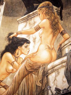 Not erotic fantasy women art can suggest